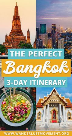 Bangkok, Thailand is a fantastic destination for city slickers, history buffs and foodies! Here are the best things to do in Bangkok in a itinerary. The post The Best of Bangkok: The Perfect Bangkok Itinerary appeared first on Trendy. Bangkok Thailand, Thailand Travel Guide, Visit Thailand, Asia Travel, Backpacking Thailand, Croatia Travel, Travel To Bangkok, Hawaii Travel, Bangkok To Do
