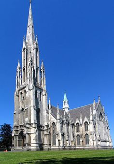 First Church of Otago, Dunedin, New Zealand Cathedral Church, My Church, Dunedin New Zealand, New Zealand Cities, Long White Cloud, New Zealand South Island, Sacred Architecture, Church Building, Chapelle