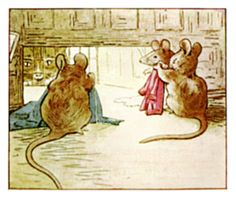 The Tailor of Gloucester - Simpkin Cannot Get In