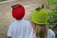 Cotton Apple Hat - free crochet pattern from TheDomesticHeart.com