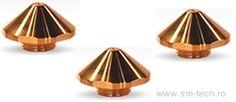 Nozzles for Trumpf laser cuting machines   01324858 01324860 01324861