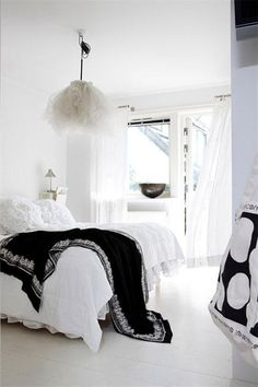 sleep in white