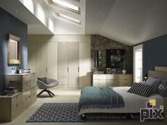 CGI Bedroom furniture