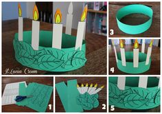 Lucia Crown Template, and Christmas in Sweden. Christmas Around The World Sweden, Sweden Christmas, Around The World Theme, Celebration Around The World, Holidays Around The World, Holiday Themes, Christmas Activities, Christmas Traditions, Christmas Themes
