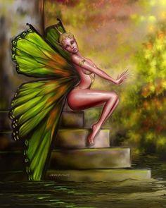 Butterfly Fairy by Frank granados602 Granados