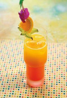Tequila Sunrise - Cócteles exóticos