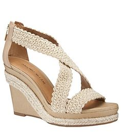 fb1a489431e Antonio Melani Covell Platform Wedge Sandals Antonio Melani