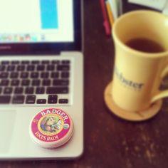 #BadgerBalm #stayfocused - via @yuefeng_d