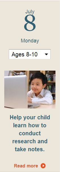 Lead your child through a mini research project to practice research and note-taking skills. Click for more.