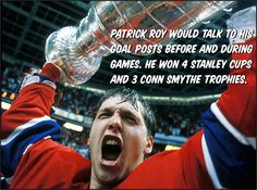 Why would the fans change their winning routine? Don't mess with superstition! Right, Patrick Roy? Stanley Cup Finals, Routine, Fans, Change, Followers