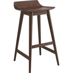 Shop wainscott bar stools.   Stunning in its simplicity, this ultra sophisticated stool is surprisingly comfy, too.  Low back, slim seat cuts a striking silhouette in natural shesham wood, known for its rich color and active grain.
