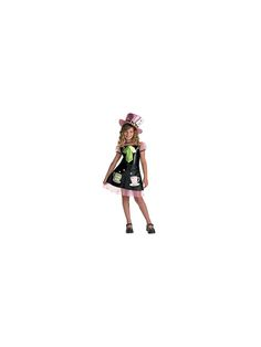 Mad Hatter Child Costume | Wholesale Alice in Wonderland Costumes for Girls