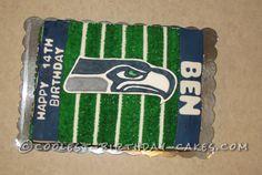 Seahawk Cake