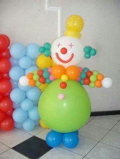 Balloon Columns, Balloon Wall, Balloon Arch, Balloon Garland, Balloon Ideas, Clown Party, Circus Party, Circus Clown, Balloons And More