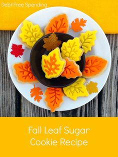 Best fall sugar cookie recipe