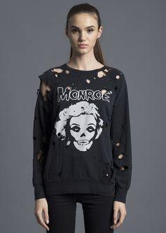 Monroe Destroyed Sweatshirt