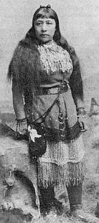 Sarah Winnemucca, Paiute writer and lecturer.  Her book Life Among the Piutes (1883) gave an account of their lives.