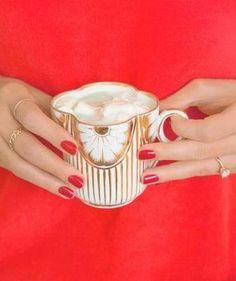 Mint White Hot Cocoa