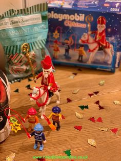 St Nicholas Day Playmobil set St Nicholas Day, Playmobil Sets, Woodland Elf, Father Christmas, Magical Creatures, Family Traditions, Easter Bunny, Elf On The Shelf, Elves