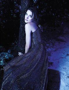 [editorial] 'la couture enchantée' | natalia vodianova by karl lagerfeld for numero magazine | march 2013 | via the libertine