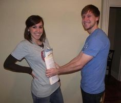 """Who says that only pregnant couples get to announce their pregnancies and babies' births? We love this fun """"paper pregnant"""" adoption photo! This is amazing! Adoption Quotes, Adoption Gifts, Adoption Party, Foster Care Adoption, Foster To Adopt, Adoption Baby Shower, Adoption Options, Pregnant Couple, Adopting A Child"""