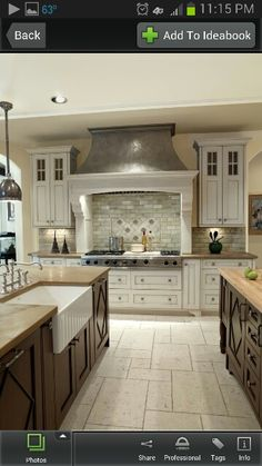 Kitchen ideas 04 cabinets color and style combo