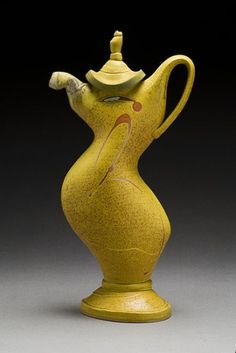 yellow - ceramic - teapot - Nick Joerling