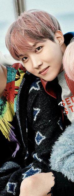 Hoseok looks so damn fine