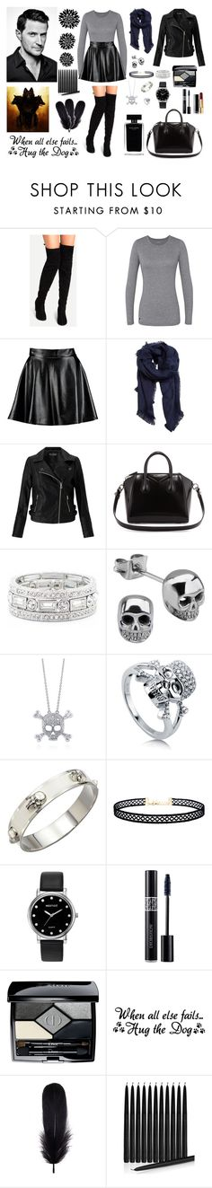"""""""Daughter of Hades"""" by ralucastephany ❤ liked on Polyvore featuring Boohoo, MANGO, Miss Selfridge, Givenchy, Sole Society, BERRICLE, Alexander McQueen, LULUS, Narciso Rodriguez and Mestige"""