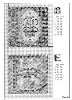 Zweigart Celtic alphabet 4