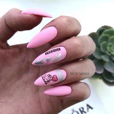 Wow Nails, Pink Nails, Beauty Nails, Hair Beauty, Color Block Nails, Art Deco Colors, Nail Manicure, You Nailed It, Nail Designs