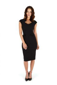 #topvintage So Couture - Harvard Black Pencil dress