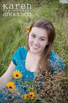 High school senior girl by Karen Anderson Photography