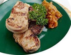 Panenka na grilu ve sladkokyselé marinádě Hummus, Pork, Ethnic Recipes, Kale Stir Fry, Pork Chops