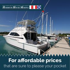 Our emphasis is on quality products and excellent service. #harbourhousemarina #caymanislands #boats #affordableprices