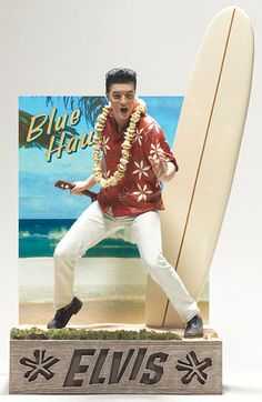 "Elvis Presley in Blue Hawaii (1961) by McFarlane — 6"" (15.24cm) tall"