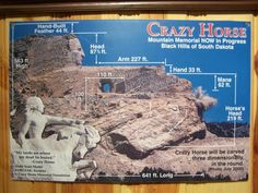 **Crazy Horse Monument.  12151 Avenue of the Chiefs, Crazy Horse, S.D.