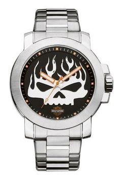 Harley-Davidson Mens Bulova Skull Wrist Watch  http://bikeraa.com/harley-davidson-mens-bulova-skull-wrist-watch-76a138/