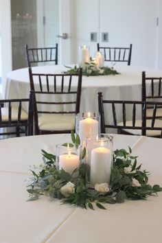 Greenery+Candle+Centerpiece2.JPG 1,066×1,600 pixels