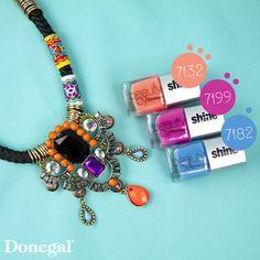Lakiery Beauty Shine by Donegal, soczyste kolory! nail#nailart