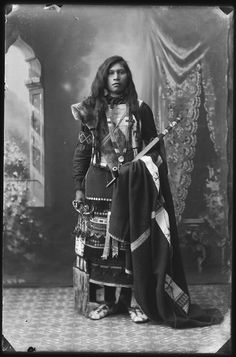 "Unidentified child photographed as part of the series ""Native Americans from South eastern Idaho"", by Benedicte Wrensted, ca.1897 (probably Shoshone?)"