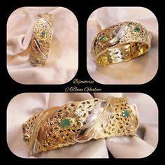 Bangles, Bracelets, Jewelry, Fashion, Gold Wedding Rings, Gold Jewelry, Luxury Jewelry, Moroccan Jewelry, Stones