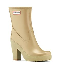 Hunter Boots get a serious fashion makeover. Like! Like!