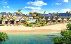entara Grand Azuri Resort & Spa ***** - Mauricio Mauritius Hotels, Heaven On Earth, 5 Star Hotels, Resort Spa, Acre, Dolores Park, Mansions, House Styles, Beach