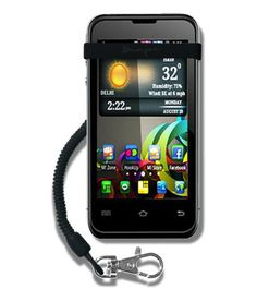 MyBunjee® Classic For BlackBerry Bold Touch 9900 – Black Strap