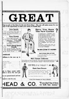 The Tucumcari news and Tucumcari times. (Tucumcari, N.M.) 1907-1921, April 11, 1908, Image 7.  Including undergarments!
