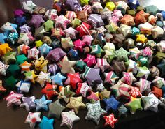 Flat Rate Box Crammed Full with Origami Lucky Stars by katienelson, $15.00