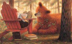 "Jim LaMarche, ""A Story for Bear""."