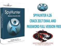 SPYHUNTER 4.26 CRACK 2017 EMAIL AND PASSWORD FULL VERSION FREE