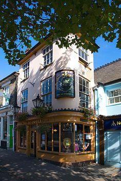 The Nutshell Smallest Pub in Britain Bury St Edmunds Suffolk.